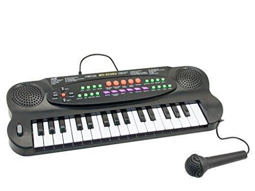 Teorema 65041 - Pianola Multifunzione con 32 Tasti e Microfono