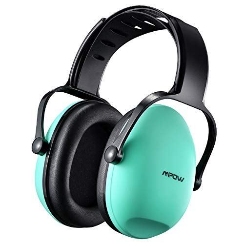 Mpow 113 Children Ear Defenders[Upgraded], SNR 26dB Safety Kids Ear Defenders, Ear Muffs for Hearing Protection, Noise Reduction Baby Ear Protector for Fireworks, Concert, Thunderstorm-Tiffany Blue (Baby Ear Muffs)
