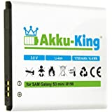 Akku-King 20109586 - Batería para Samsung Galaxy Ace 2 (Li-Ion, 1700 mAh, 3.8 V)
