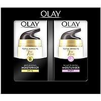 Olay Total Effects 7 en 1, Crema diurna y nocturna facial (anti-edad, SPF15, piel seca) - 40 ml.