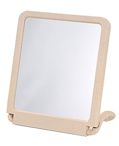 "Bad Handspiegel Vanity Mirror Tischplatte Make-up Spiegel 7.87 ""x11.81"" (Beige)"