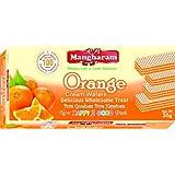 R B Mangharam Cream Wafers Orange 35g (Pack of 4)