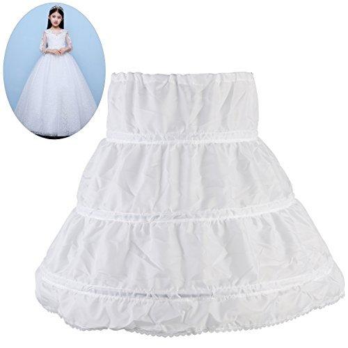 Preisvergleich Produktbild NUOLUX Mädchen Petticoat Unterrock Reifrock