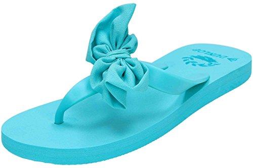 Dunlop, Flip Flops für Damen - Bleu - Aqua