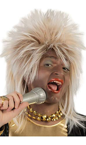 Tina-Turner-Perücke (Tina Turner Perücke Halloween)