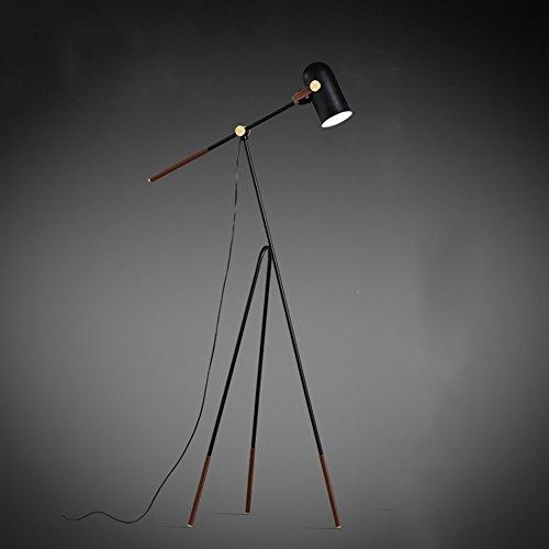 MEHE@ mode personnalité créatif Lampadaire chambre salon moderne simple créatif E27 triangle long bras pêche lumière réglable lampadaire Lampadaires