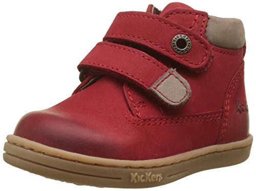 Kickers Baby Jungen TACKEASY Lauflernschuhe, (Rouge 4), 24 EU