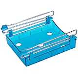 Frigorífico Cajón Organizador, handingsm cocina frigorífico congelador estante caja de almacenamiento de conexión. Multifunción Cajas de almacenamiento para cocina frigorífico, escritorio azul