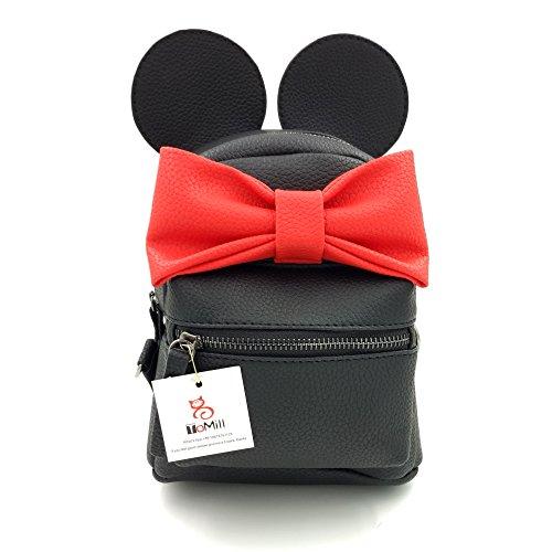 ToMill ,  Damen Rucksackhandtaschen black