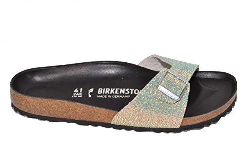 Birkenstock Madrid NL Ombre Pearls Silver Black 37