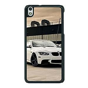 Jugaaduu Super Car BMW Back Cover Case For HTC Desire 816