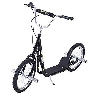 HOMCOM Adult Teen Push Scooter Kids Children Stunt Scooter Bike Bicycle Ride On 16