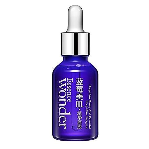 ROMANTIC BEAR Blueberry Hyaluronic Essence Acid Liquid Original Fluid Serum