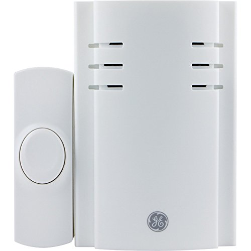 GE 19299 8-Melody Plug-in Chime with Push Button (Ge Dvd-player)