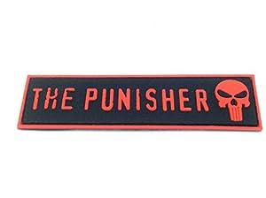 The Punisher Tête de mort Grande en PVC Airsoft Team Patch