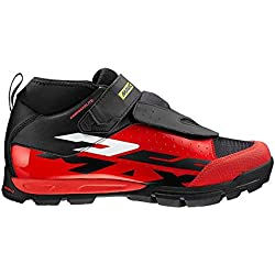 Mavic Deemax Elite - Zapatillas - Rojo/Negro Talla 42 2/3 2018