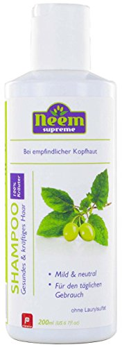 Pranayur - Neem Supreme Shampoo Tulsi 200 ML