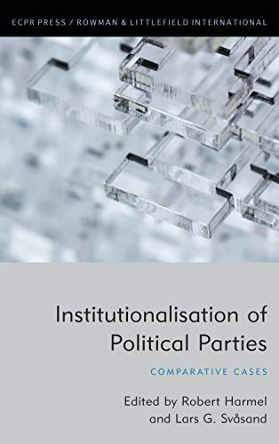 Institutionalisation of Political Parties: Comparative Cases