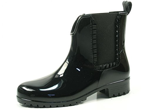 Tamaris Damen Gummi Stiefel 12598939 Schwarz 001 , Größe:40;Farbe:schwarz