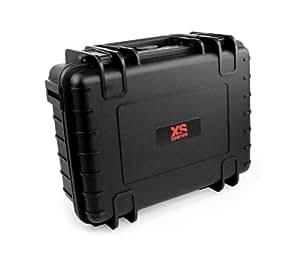 XSories - HUGE BLACK BOX CUSTOM Mallette de transport Rigide et Waterproof 15L - Noir