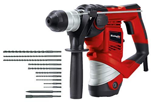 Einhell  TC-RH 900 Bohrhammer Set, 900 W, 3 J, Bohrleistung in Beton Ø 26 mm
