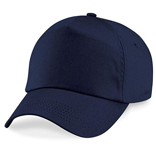 Beechfield - Original 5 Panel Cap Einheitsgröße,French Navy (Verstellbar Cap Navy)