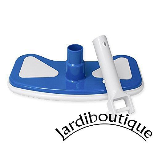 Tête de balai aspirateur demi-lune pour piscine - jardiboutique