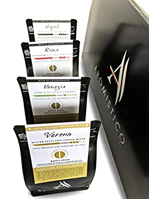 AROMISTICO Coffee | Variety Classic Coffee Gift Set Hamper Set | Christmas Blend Edition | from Arca S.r.l.