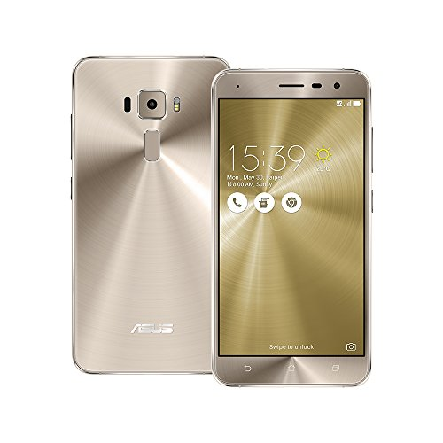 Asus ZenFone 3 (ZE520KL) Dual-SIM Smartphone (5,2 Zoll (13,2 cm) Full-HD Touch-Display, 32GB Speicher, Android 6.0) Gold