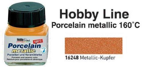 Hobby Line Porzellanmalfarbe, 20ml, Kupfer [Spielzeug]