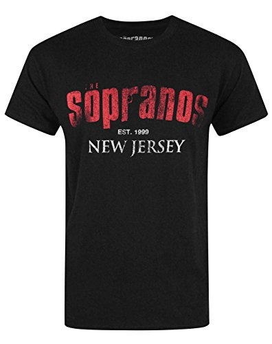 Hombres - Official - The Sopranos - Camiseta (L)
