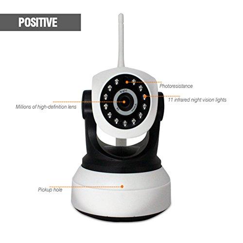 Anzeige Powered Remote (1080P HD mit TF-Schuss Home Security IP-Kamera, Überwachungskamera, Unterstützung Zwei-Wege-Sprechen Motion Detection)