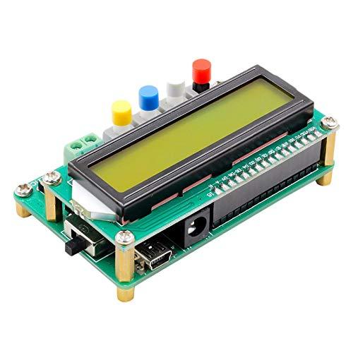 SODIAL Lc100-A Lcd Digitale Ad Alta Precisione Induttanza Capacità L/C Misuratore Condensatore Frequenza di Frequenza 1Pf-100Mf 1Uh-100H Clip di Prova Lc100-A