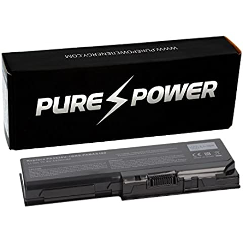 PURE⚡POWER® Batteria del computer portatile per Toshiba Satellite P300D-14A (10.8V, 4400 mAh, nero, 6 celle)