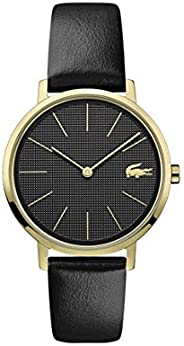 Lacoste Womens Quartz Watch, Analog Display and Leather Strap 2001079