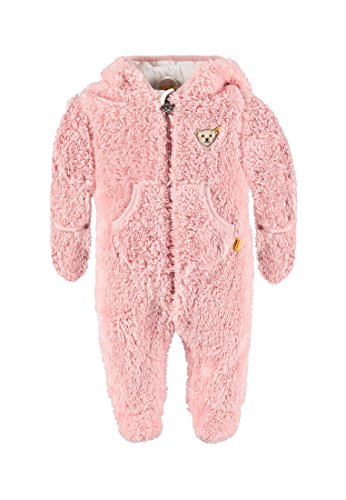 Steiff Collection Unisex Sweatshirt Overall 1/1 Arm, Gr. 56, Rosa (peach skin 2058)