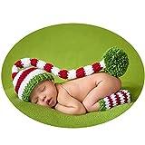 Neugeborenes Baby Fotografie Props Infant Junge Mädchen Foto Schießen Kostüme Outfits Kleidung Weihnachten Hut Stiefel