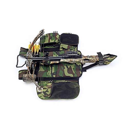 elToro Tragesystem für Armbrüste in camo mit vielen Taschen