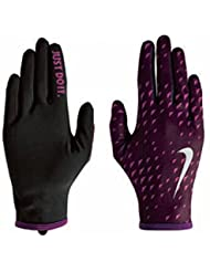 Nike Womens Therma Lightweight Gloves Wine & Berry Small