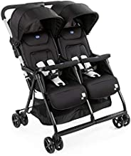 Chicco Ohlala Twin Stroller, Black Night