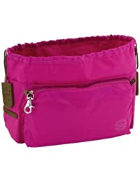 Tintamar vIP two bag in bag sac very intelligent pocket organiseur fuchsia