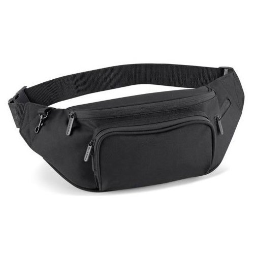 Quadra Belt Bag, BLACK