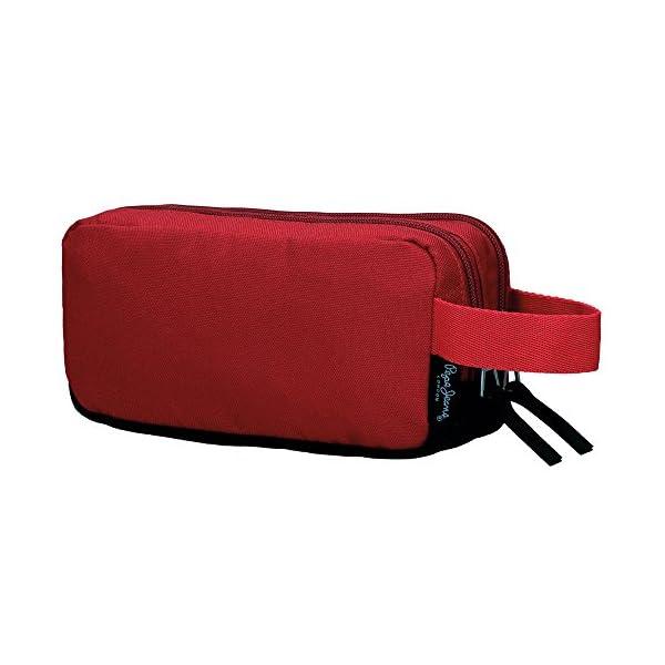 Pepe Jeans Jackson Neceser de Viaje, 1.54 litros, Color Rojo