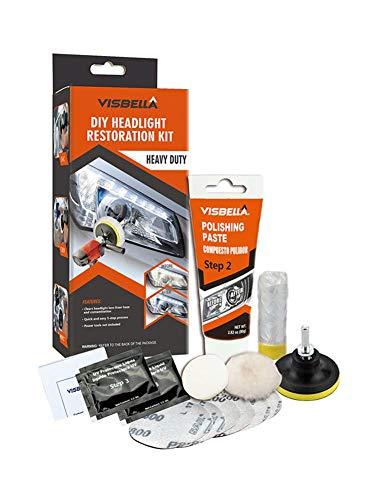 CARTEY Kit De Restauration De Phare De Réparations Terne...