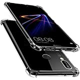 Huawei Honor 8X Anti-Burst KING KONG Armor Case Crystal Clear With Transparent Hard Plastic Back Plate and Soft TPU Gel Bumpe