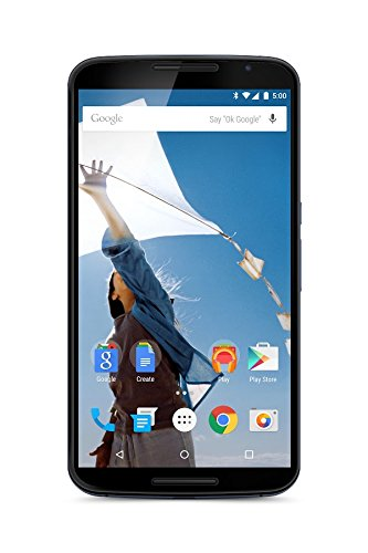 Motorola nexus 6 smartphone, display 6 pollici quad-hd, processore 2,7 ghz quad-core snapdragon 805, memoria 64gb, android 5.0 lollipop, blu [francia]