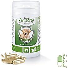 Pastillas AntiGarrapatas para Perros Pequeños (hasta 10kg) - 60 cápsulas | Producto 100%
