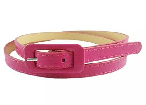 Sucre Belts Damen Gürtel mit Schnalle Gürtel Pink rose (Victoria Rose Kleider)