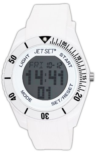 Jet Set Bubble Unisex Analogue Watch with White Dial Analogue Display - J93491-21