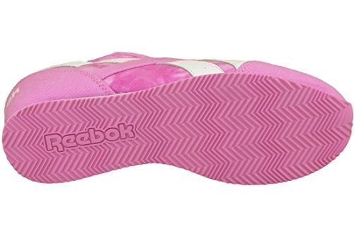 Reebok Royal Cljog 2gr, Scarpe da Corsa Bambina Multicolore (Rosa / Blanco (Icono Pink / Wht))